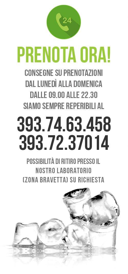 Dove Comprare Ghiaccio a Roma - Prenotazione Telefonica