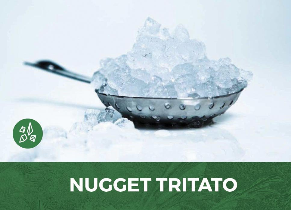Ghiaccio Express tritato - nuggets per Cocktails e Pestati a Roma